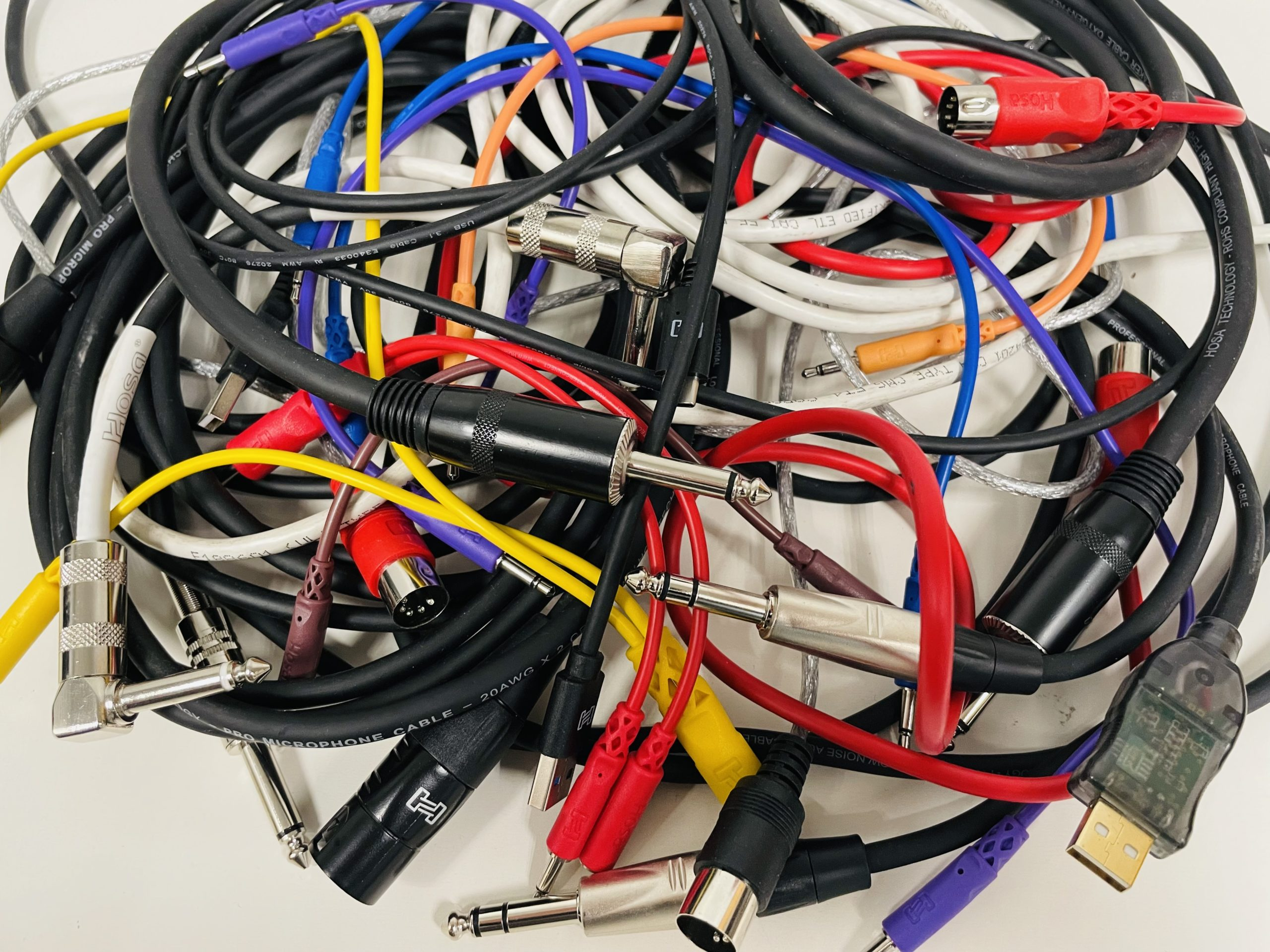 Cables by Hosa